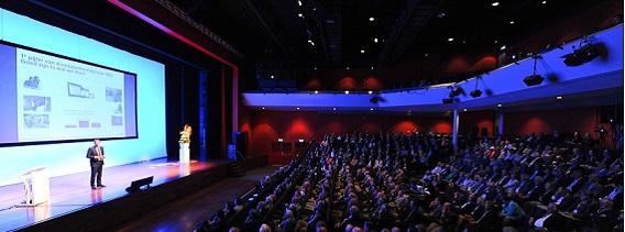 Symposiumzaal 275-750 personen tijdens een evenement