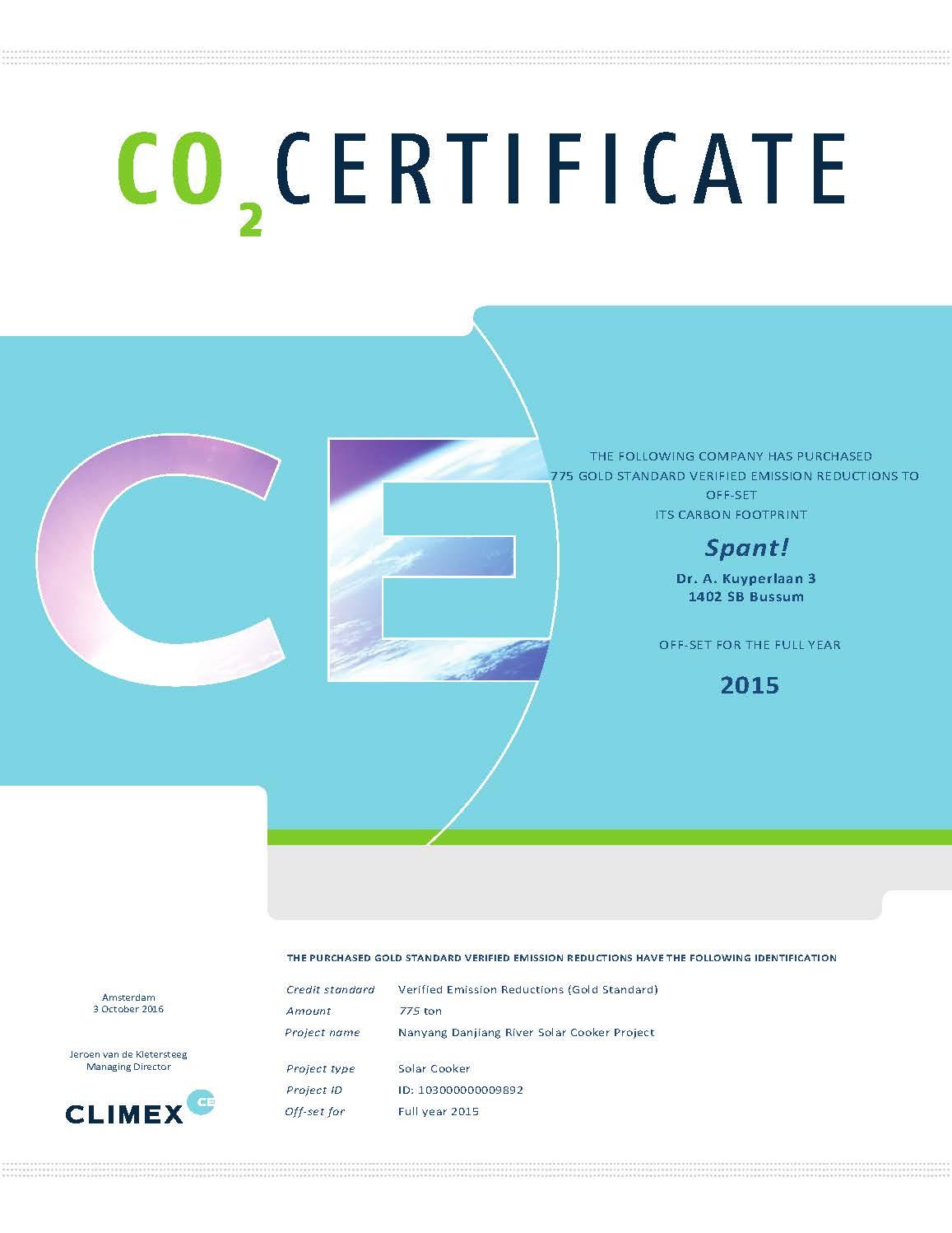 VER certificaat