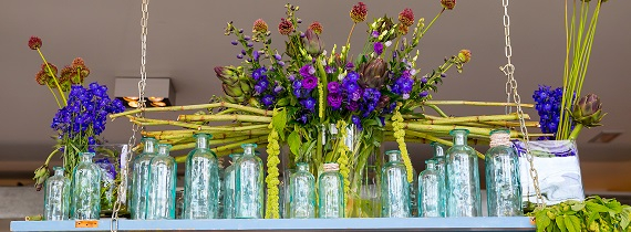 Bloemendecoratie voor uw evenement of congres