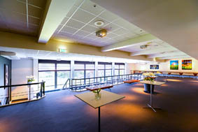 Foyer twee cateringruimtes