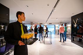Foyer drie tijdens een evenement