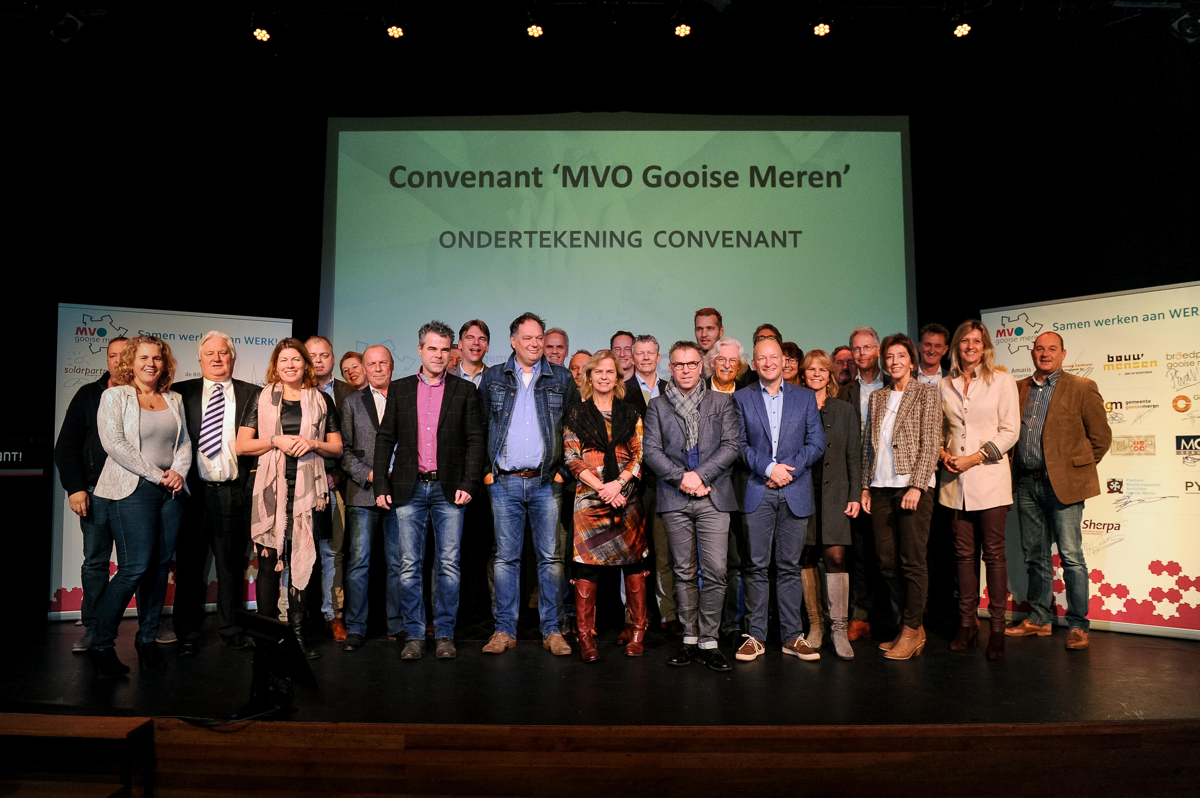 MVO, Gooise Meren, Convenant