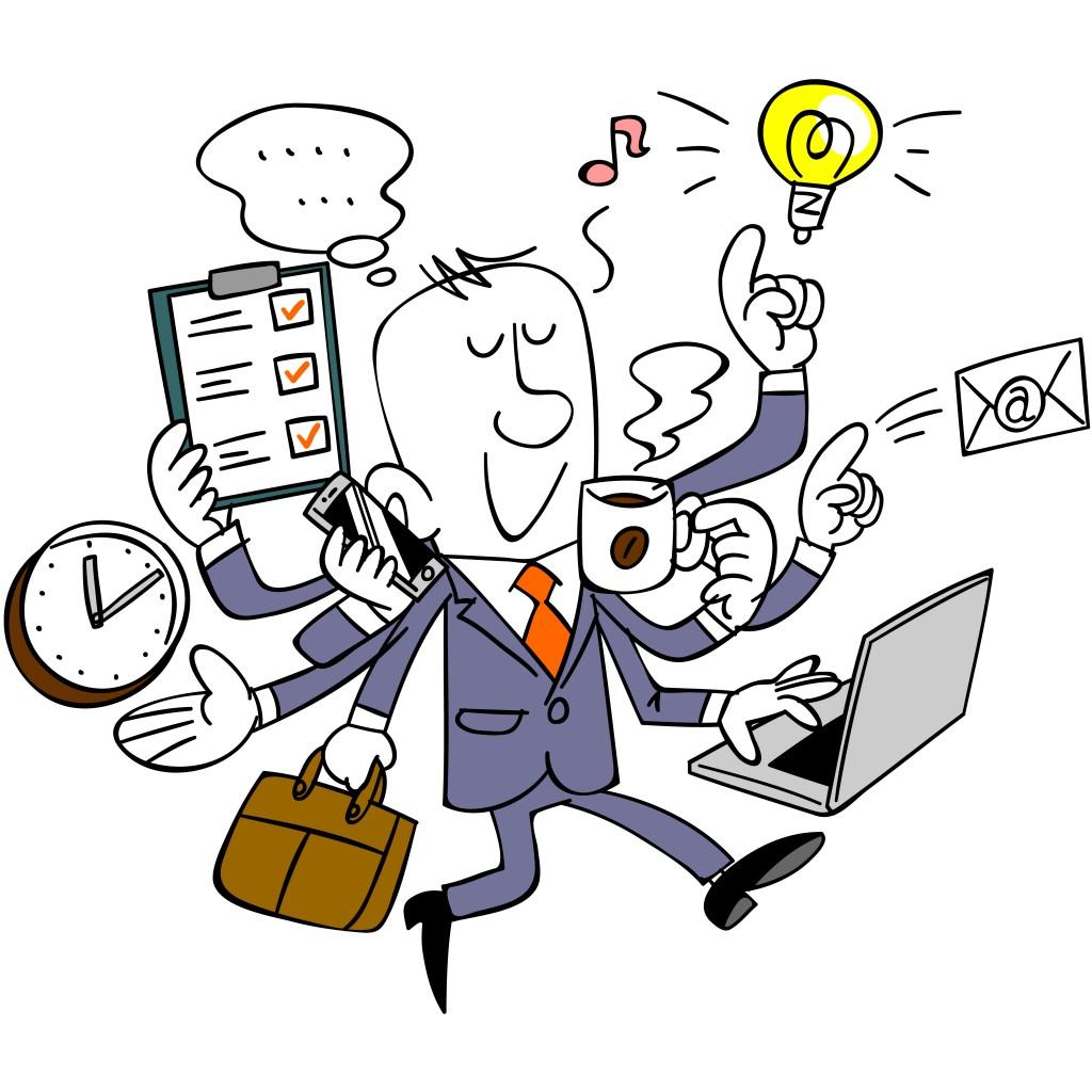 Time management Spant multitasken