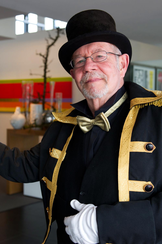 Onze portier Evert Jan - Spant!