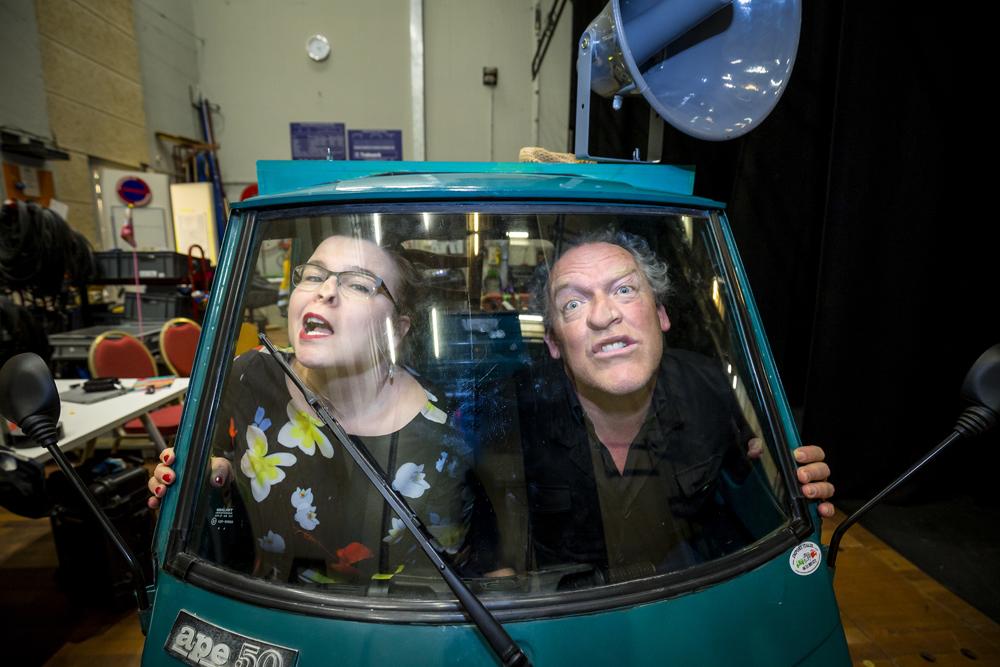 Interview Marjolijn van Kooten en Bert Visscher