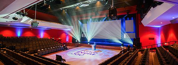 Evenementlocatie Amsterdam theater ruimte