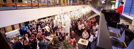 Evenementenlocatie Midden Nederland van bovenaf