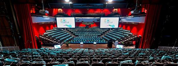 Symposium organiseren 750-1000 personen theater