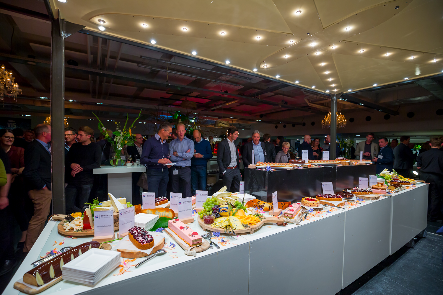 evenement organiseren food