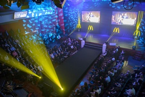 evenement organiseren mc donald
